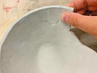 くっつく土の使い方手順2
