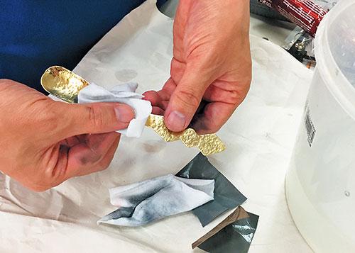 真ちゅうスプーン作り方手順6