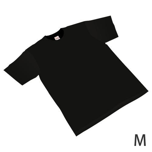 カラーTシャツ 黒 Mサイズ