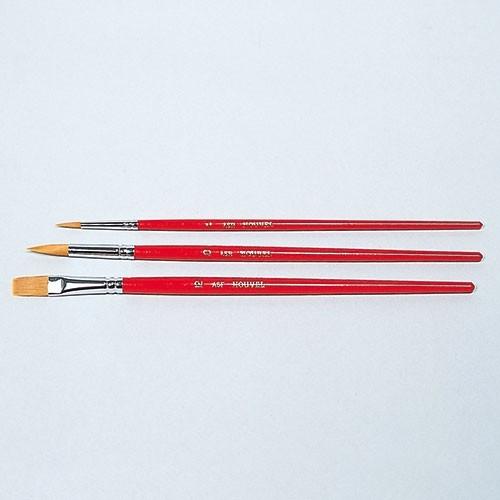 アクリル用画筆3本セット(ヴァンゴッホ・ASフデ3セット)