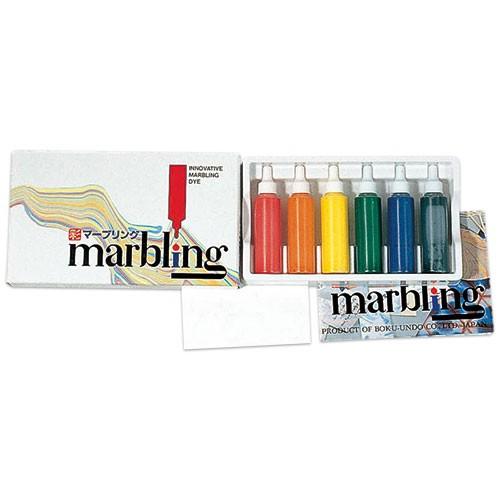 彩液マーブリング 6色セット(12mL)