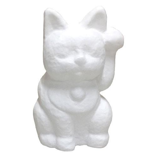 絵付け用張り子 招き猫160(H160mm)