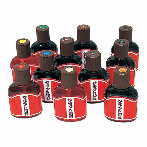 クラフト染料 12色セット(各100ml)