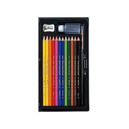 大人の塗り絵:画材:水彩色鉛筆